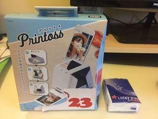 超值!全新Printoss相機連兩盒相紙