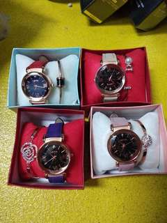 Fashion watch sets