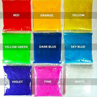 Colored sand 200g