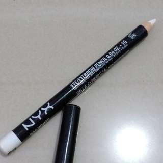 Nyx white pencil