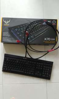 Cosair Gaming K70 Mechanical Keyboard