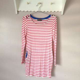 Stripes WAGW dress
