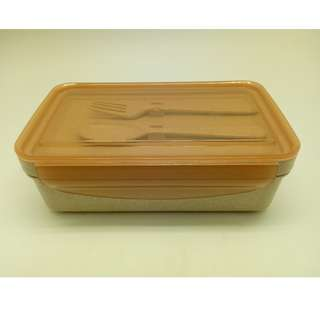 Portable Simple Wheat Straw Lunch Box