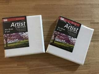 Brand new pair of mini KCK Artist Canvas