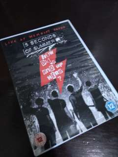 5SOS How Did We End Up Here: Live at Wembly Arena DVD