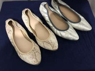 Pointed Ballet Flats Fits sz6