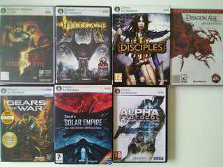 Old PC games hot sale
