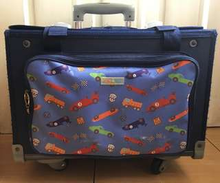 Lily and Tucker trolley bag