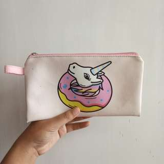 Preloved Tempat pensil custom unicorn