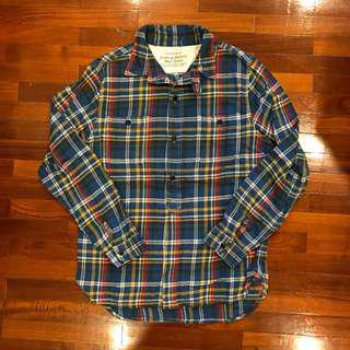 Tenjuki-ya Flannel Work Shirt Small
