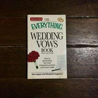 Everything Wedding Vows