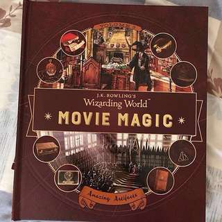 J. K. Rowling's Wizarding World: Movie Magic volume 3 - Amazing Artifacts - Hardcover Hardback hard cover - Harry Potter