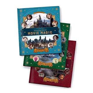 J. K. Rowling's Wizarding World: Movie Magic volume 1, 2 and 3 - Hardcover Hardback hard cover - Harry Potter