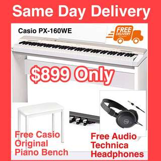 Brand New Top Selling Casio pX-160 Digital Piano