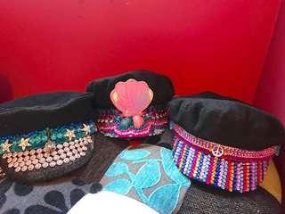 Custom made festival hats