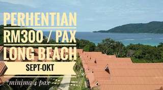 Pakej Long Beach Cocohut