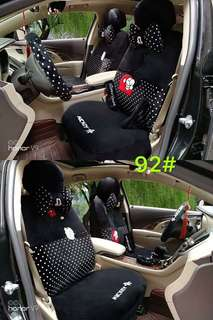 Mickey Mouse Car Seat & Accessories Cover (Polka Dot)