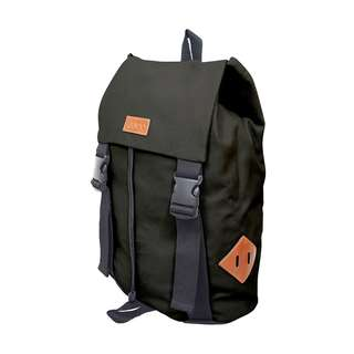 """EUROO TRENCH BACKPACK- BROWN 13.3"""""""