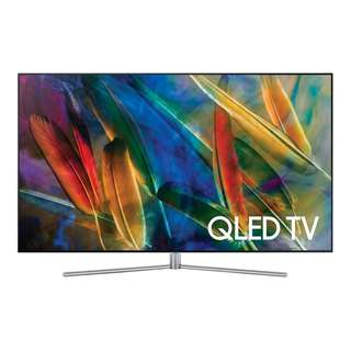 "Samsung QA55Q7FAMK 55"" QLED 4K Smart TV + Free wall mount"