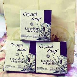 Crystal soap