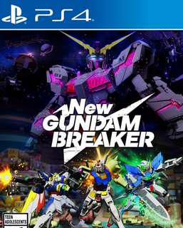Brand New R3 PS4 New Breaker Gundam