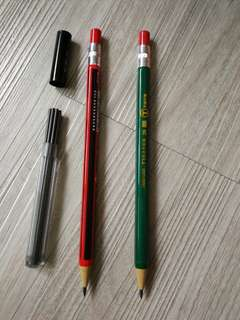 Thick-Core Mechanical Pencil + Lead