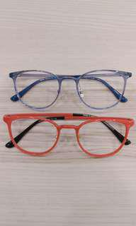 Korean Square Plastic Frames S3008