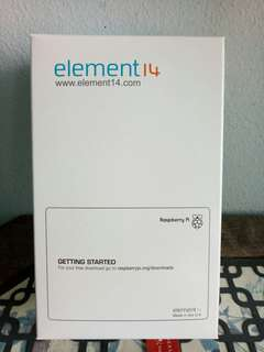 Raspberry pi from element14