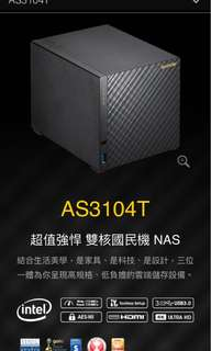 ASUSTOR AS3104T 4 Bay NAS