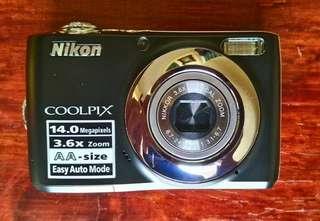 Preloved Nikon L24 coolpix digicam *bought in Dubai*