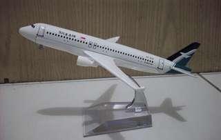 SilkAir A320 Airline Model