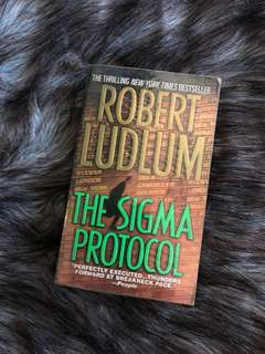 The Sigma Protocol by Rober Ludlum