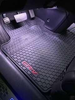 Honda crv3橡膠腳踏墊
