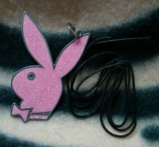 Playboy Pink bling bling Necklace 鍊咀 頸鍊 項鍊