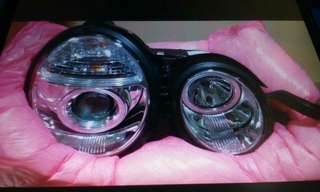 Mercedes benz headlights
