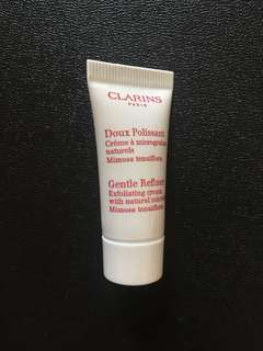 Clarins Gentle Refiner Exfoliating Cream 5ml