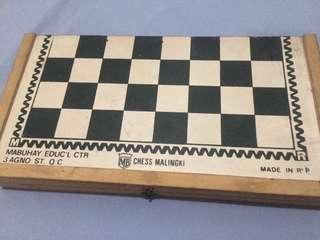 Wooden chess Malingki (30cm x 32cm)