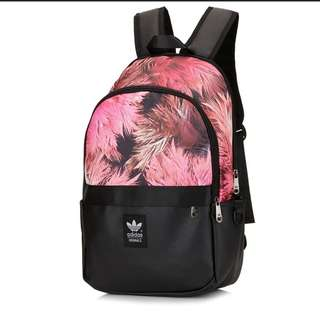 Adidas Student Backpack Bag summer style red READY STOCKS