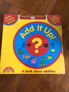 Interactive book of Addition for toddlers
