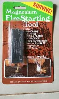 Flint / Flint Rod / Fire Starter kit / Magnesium Rod / Fire Steel / Flint Stone / Ferro Rod / Ferrocerium Rod