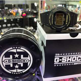 DW-5735D-1B 黑金 Casio G-Shock 35週年