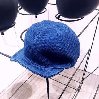 🚚 阿美咔嘰 藍染 indigo 卡車司機帽  植物染 鴨舌帽