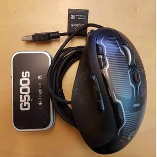 🚚 Logitech G500s Gaming Mouse