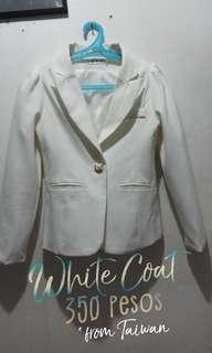 White Korean Coat