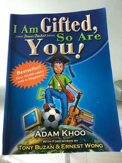 I am gifted, so are you (by Adam Khoo)