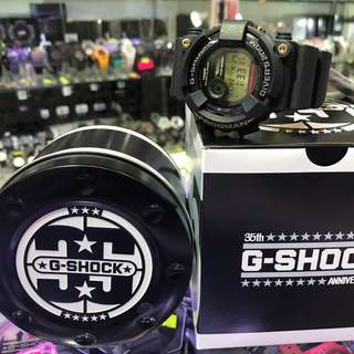 GF-8235D-1 黑金 Casio G-Shock 35週年 Frogman 蛙人