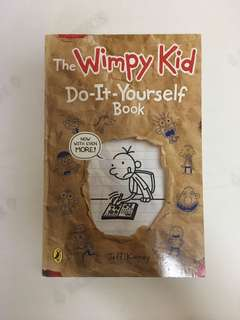 50% OFF BN Wimpy Kid Do It Yourself Book
