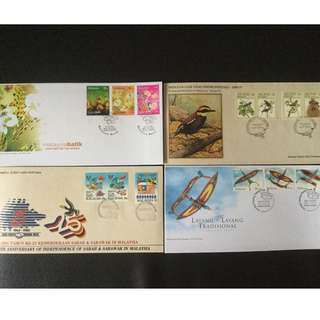 First Day Cover 4Set
