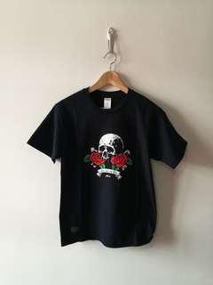SABOTAGE Skull 'N Roses Tee