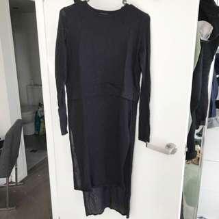 Zara midi dress/top